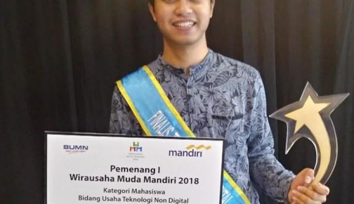 Mahasiswa UGM Juara 1 Kompetisi Wirausaha Muda Mandiri