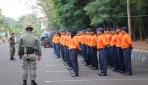 Puluhan Petugas PK4L UGM mengikuti Kegiatan Gladi Samapta