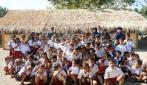 Mahasiswa KKN UGM Berhasil Galang Dana Bangun Sekolah Ceria di Lombok