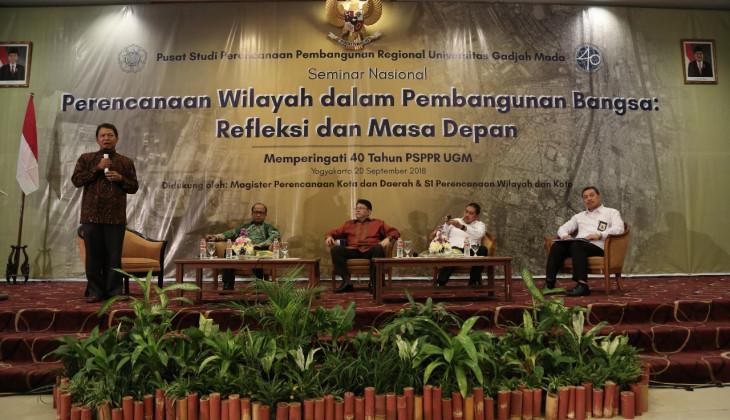 Seminar Nasional Tandai 40 Tahun Perjalanan PSPPR