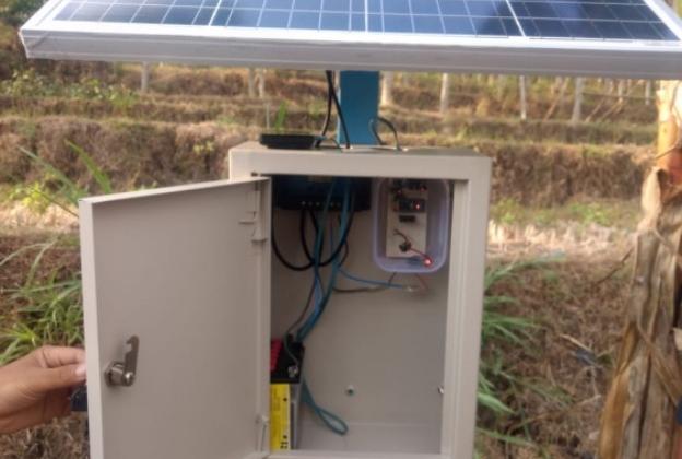 UGM Terapkan IoT to Cloud Devices pada Lokasi Rawan Longsor di Wonogiri