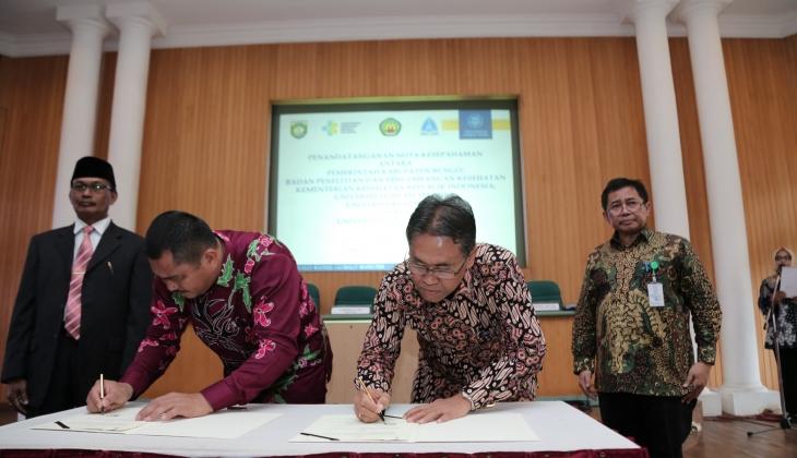 UGM Jalin Kerjasama dengan 4 Institusi