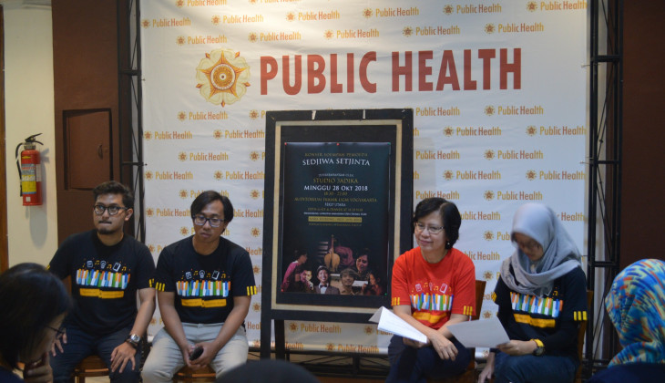 'Sedjiwa Setjinta' Konser Sumpah pemuda Untuk Kaum Difabel