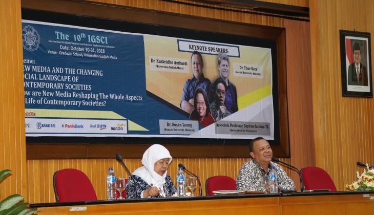 Ilmuan Sosial Dunia Bahas Pengaruh Media Baru Terhadap Perubahan Sosial di UGM
