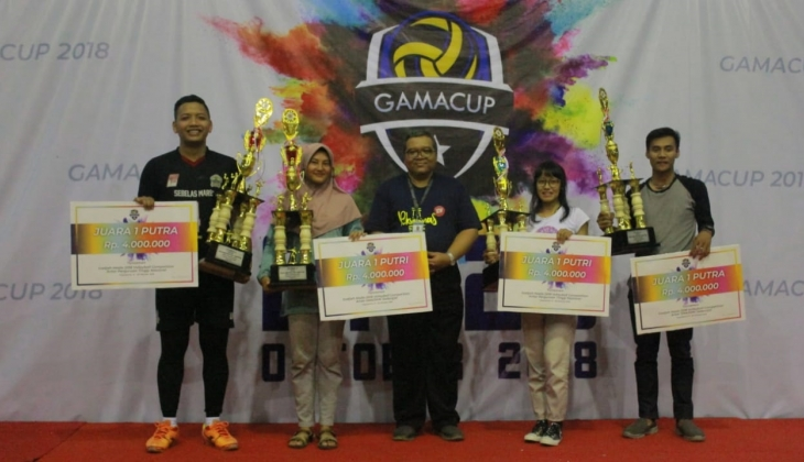 Gama Cup 2018 Sukses Digelar