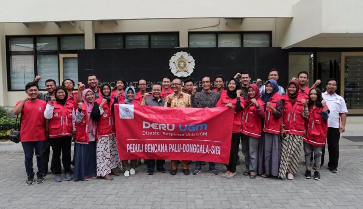 UGM Kembali Kirim Relawan ke Palu
