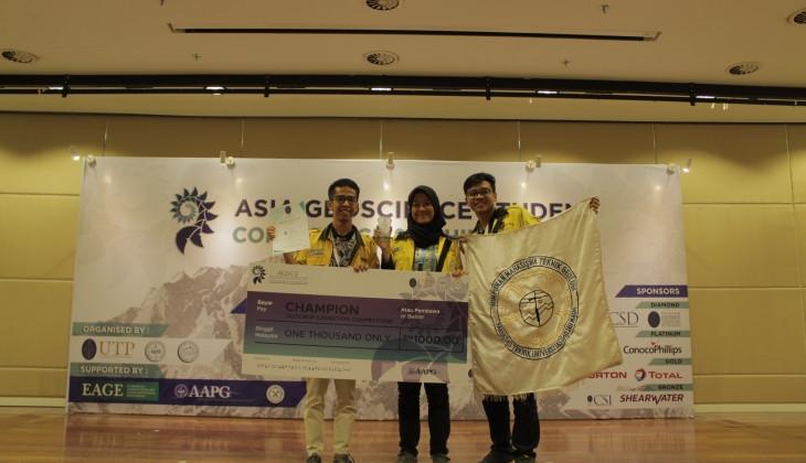 Mahasiswa UGM Raih Grand champion di Ajang AGSCE 2018