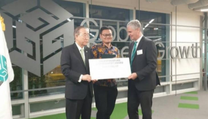 Mahasiswa UGM Juarai Greenpreneur Competition di Korsel