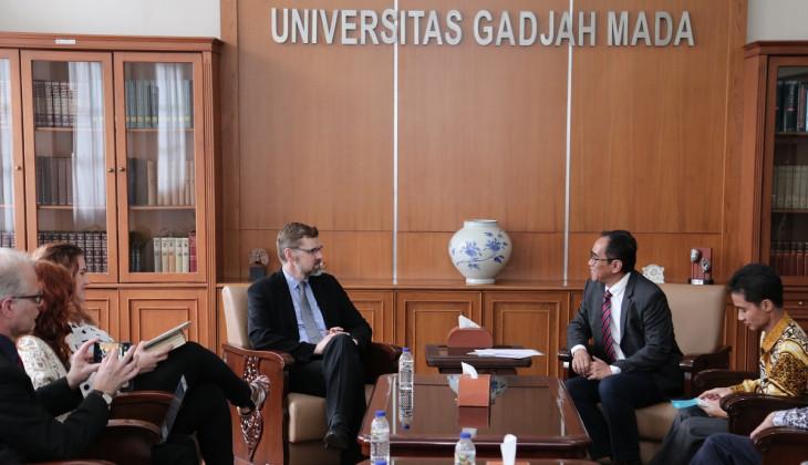 UGM dan Finland University Jalin Kerja Sama Pendidikan