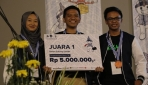 UGM Juara 3 Gemastik 2018