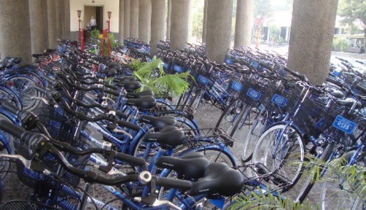Wujudkan Transportasi Internal Ramah Lingkungan, UGM Operasikan Sepeda Kampus