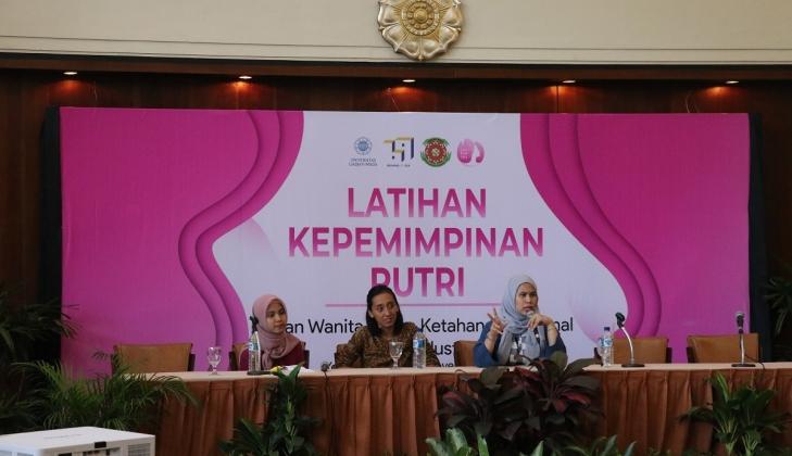 Satmenwa Selenggarakan Latihan Kepemimpinan Putri