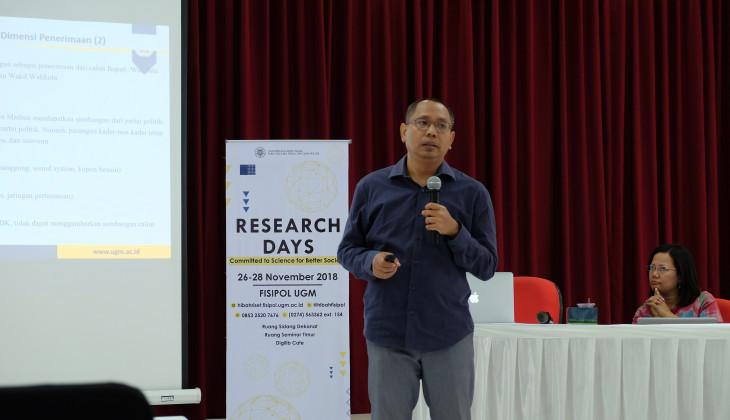 Puluhan Hasil Riset Dipresentasikan dalam Research Day FISIPOL