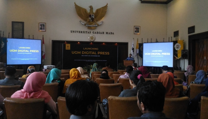 BPP Launching UGM Digital Press