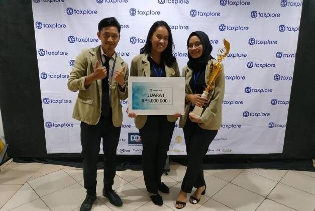 Mahasiswa FEB UGM Juara 1 Kompetisi Taxplore 2018