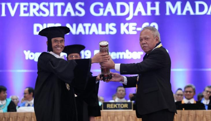 Menteri PUPR Basuki Terima HB IX Award