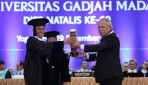 Public Works Minister Basuki Receives HB IX Award