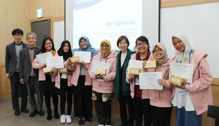 Mahasiswi UGM Juarai Kompetisi ICT dan Leadership di Korea Selatan