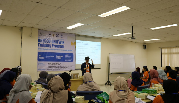 UGM Students Join UNESCO-UNITWIN Training Programme