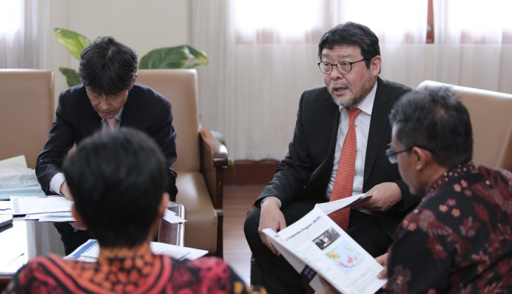 UGM and Kansai University Japan Assess Cooperation Opportunities in Disaster Mitigation