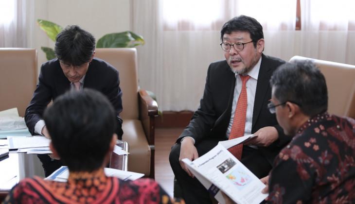 UGM dan Universitas Kansai Jajaki Kerja Sama Mitigasi Bencana