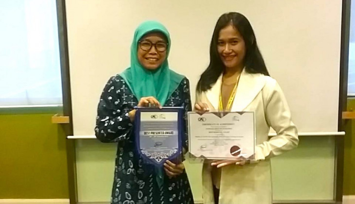 UGM Student is Best Presenter of Engineering International Seminar in Malaysia