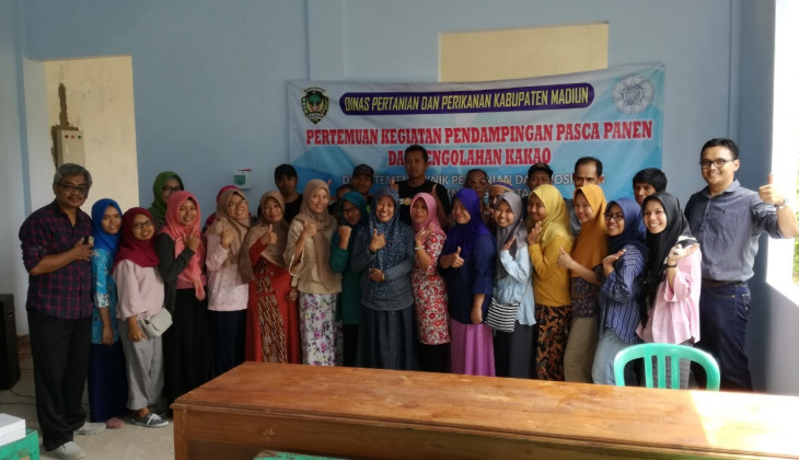 UGM Mentors Cocoa Farmers in Madiun East Java