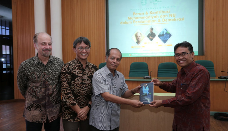 UGM Launches Book on Muhammadiyah and Nahdlatul Ulama