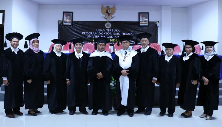 Raih Doktor Usai Teliti Kultur Masyarakat Adat Jawawawo