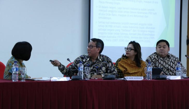Isu-Isu yang dihadapi Indonesia saat di DK-PBB