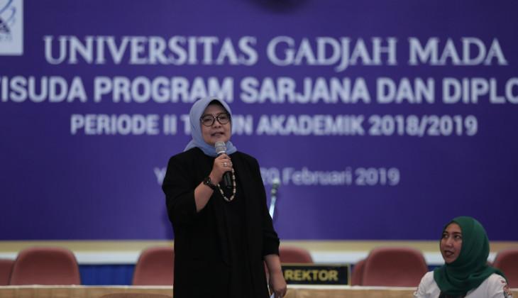 Saparini: Lulusan Untuk Tetap Fokus