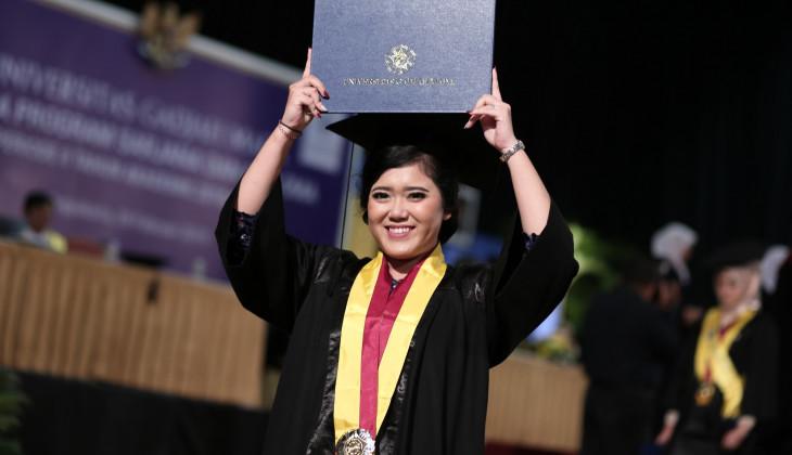 UGM Mewisuda 1.507 Lulusan Program Sarjana dan Diploma