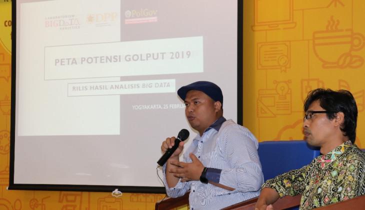 Percakapan Golput Pemilu 2019 di Media Sosial Banyak Dijumpai di Jawa