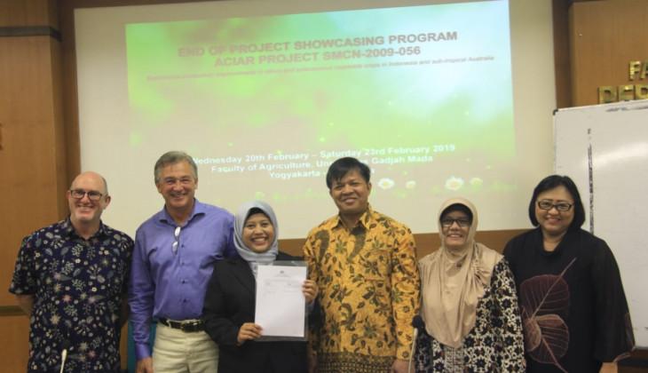 Fakultas Pertanian UGM mengadakan kegiatan ACIAR Project