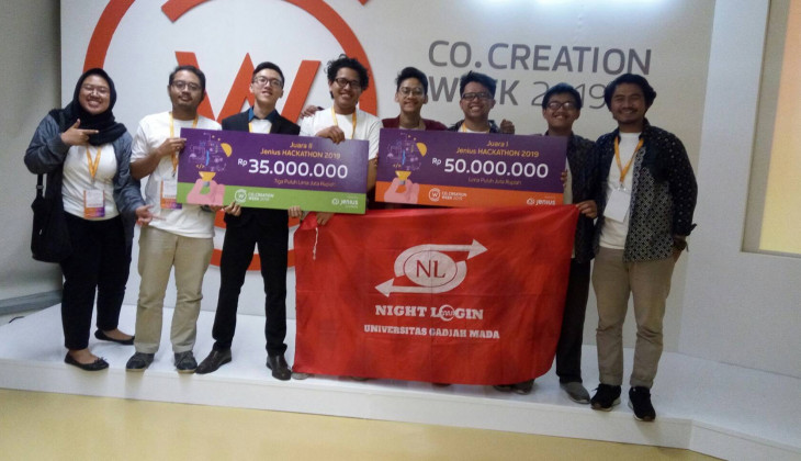 Mahasiswa UGM Juarai Hackathon Co Creation Week