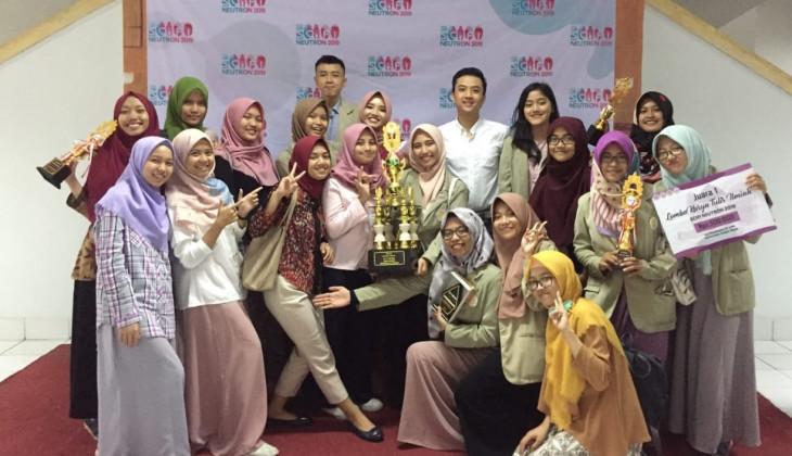 Mahasiswa FK-KMK Sabet Juara Umum SCIFI NEUTRON 2019