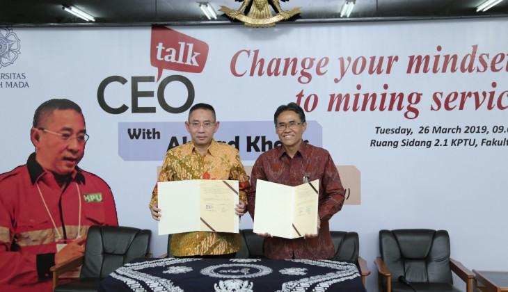 UGM Bangun Kerja Sama Dengan PT. Harmoni Panca Utama