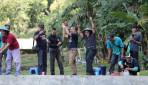 Harmoni UGM dengan Wartawan dalam Mancing Bersama