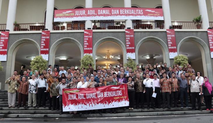 Akademisi DIY Ajak Masyarakat Kawal Pemilu Jurdil dan Damai