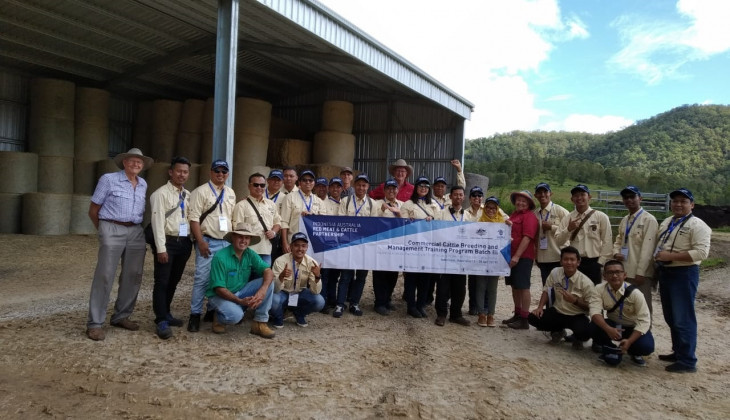 Indonesian Cattle Breeders Make Field Visit to Australia