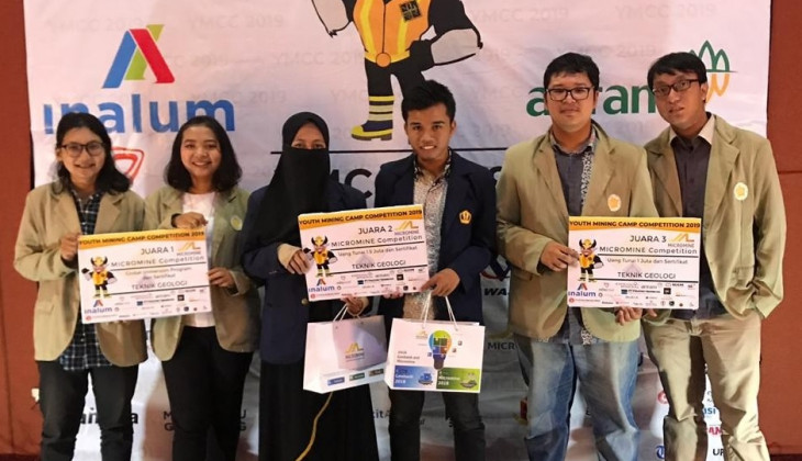 Tim Mahasiswa UGM Juarai Kompetisi Micromine Student 2019