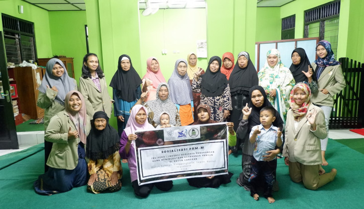 UGM Students Ask People to Utilise Unused Land for Horticulture