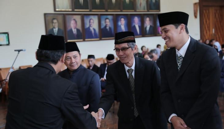 Rektor UGM Lantik 96 Pejabat Baru