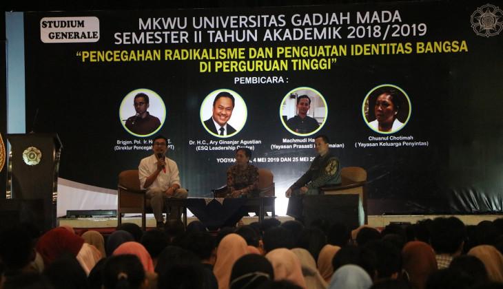 Fakultas Filsafat UGM Gelar Studium Generale Pencegahan Radikalisme