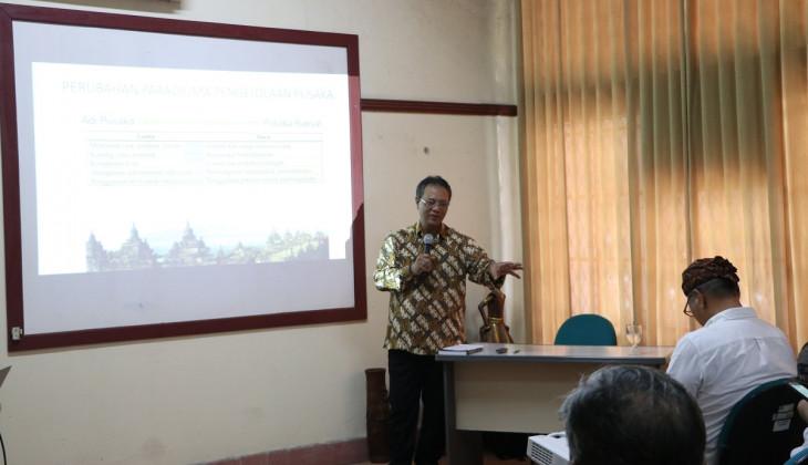Urgensi Perubahan Paradigma Pengelolaan Pusaka Budaya Dunia di Kawasan Borobudur