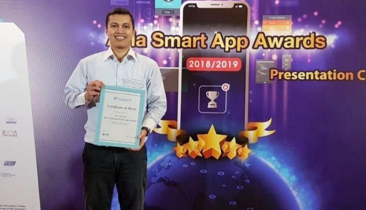 RiTx Bertani, Aplikasi Karya Dosen UGM Raih Penghargaan di Asia Smart App Awards 2019 Hong Kong