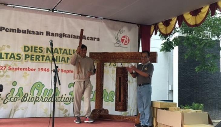 Fakultas Pertanian UGM Mulai Rangkaian Dies Natalis ke-73