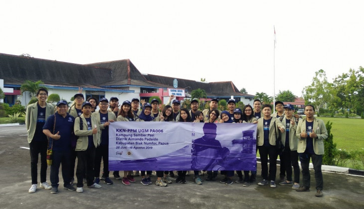 Pemerintah Kabupaten Biak Numfor Sambut Tim KKN-PPM UGM