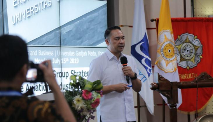 CEO Talk Bersama Pimpinan Garuda Indonesia Awali iWeek dan ISU