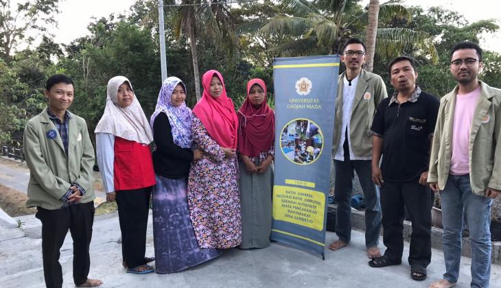 Mahasiswa UGM Kreasikan Batik Jumputan